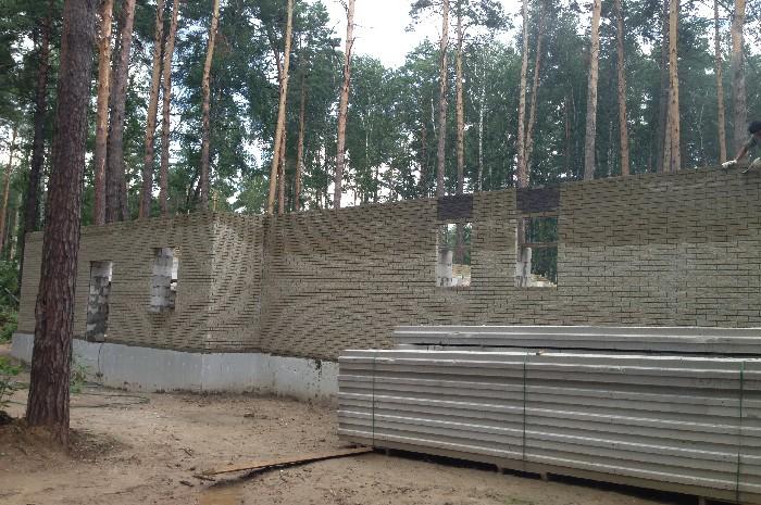 Коттедж 450 м² из сибита в п. Европейский