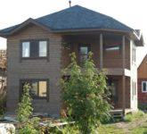 Примеры отделки фасада частного дома