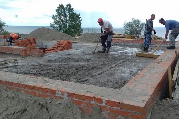 Коттедж из кирпича в с. Ленинское 320 м²