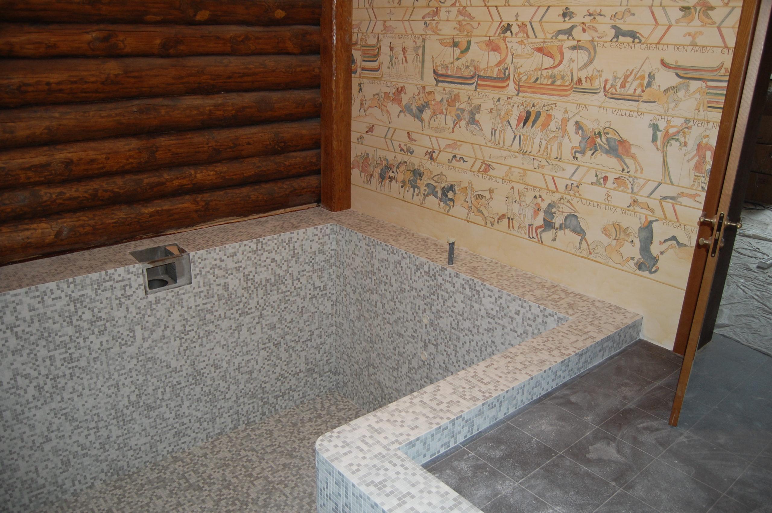 Бассейн в частной бане (1)