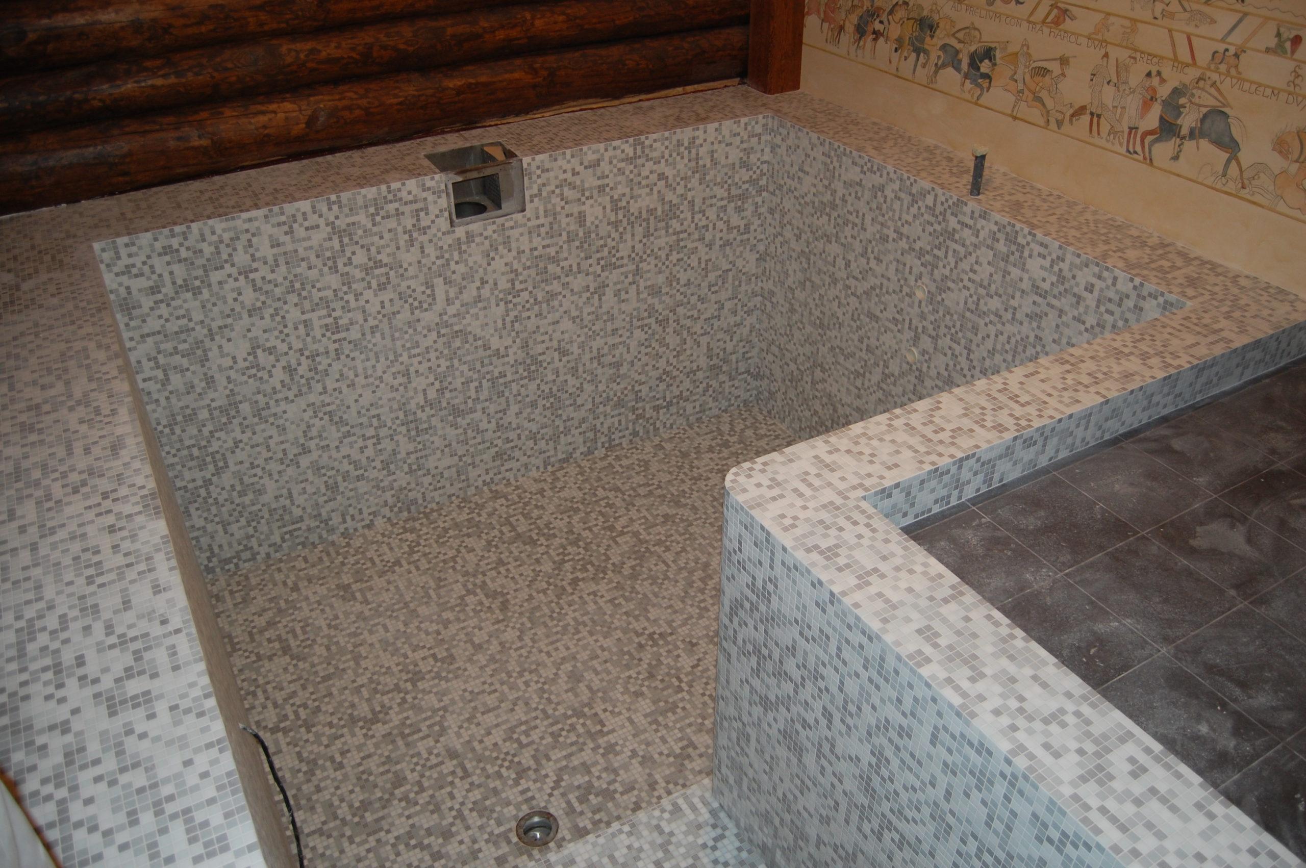 Бассейн в частной бане (2)