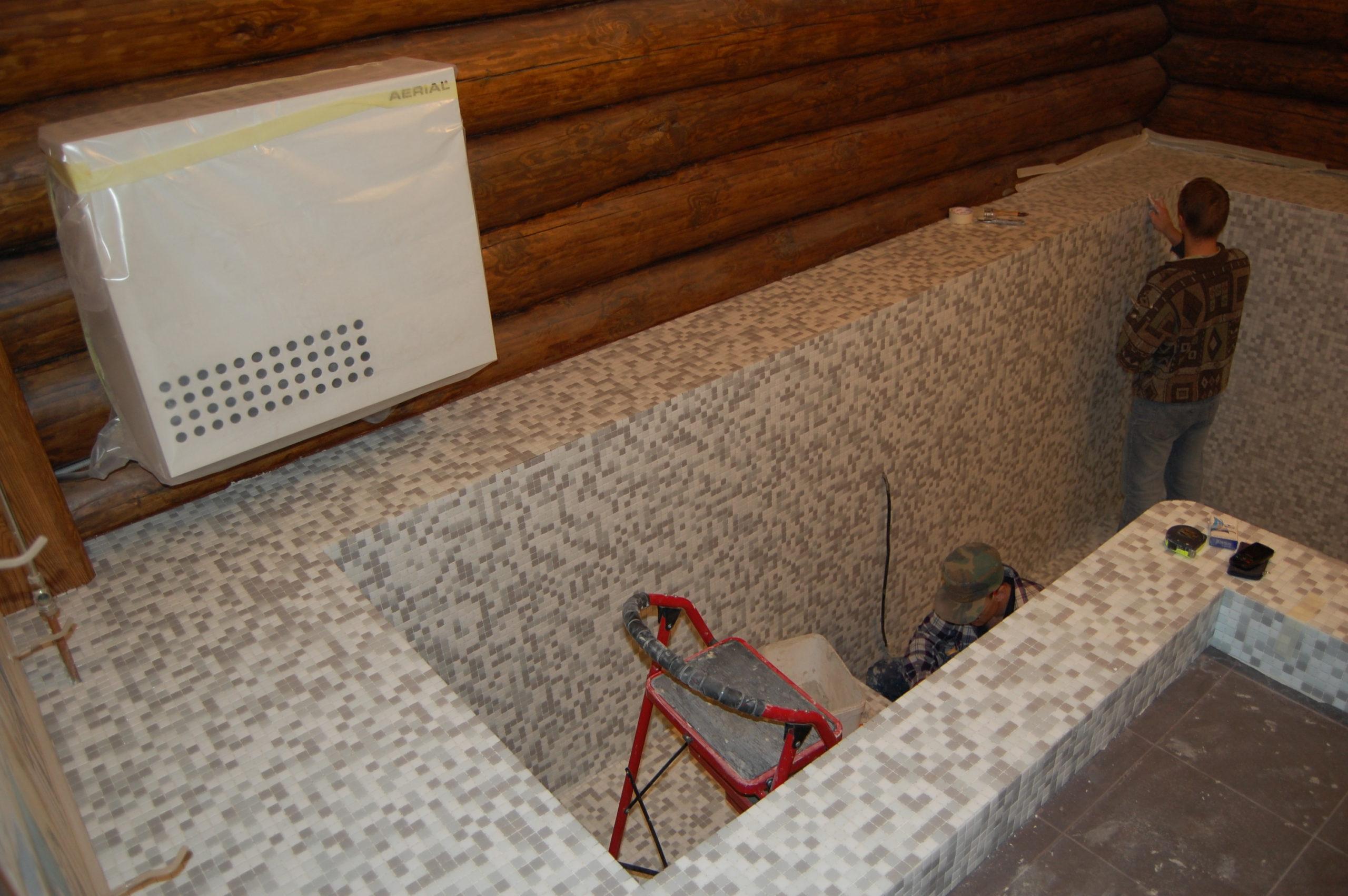 Бассейн в частной бане (21)