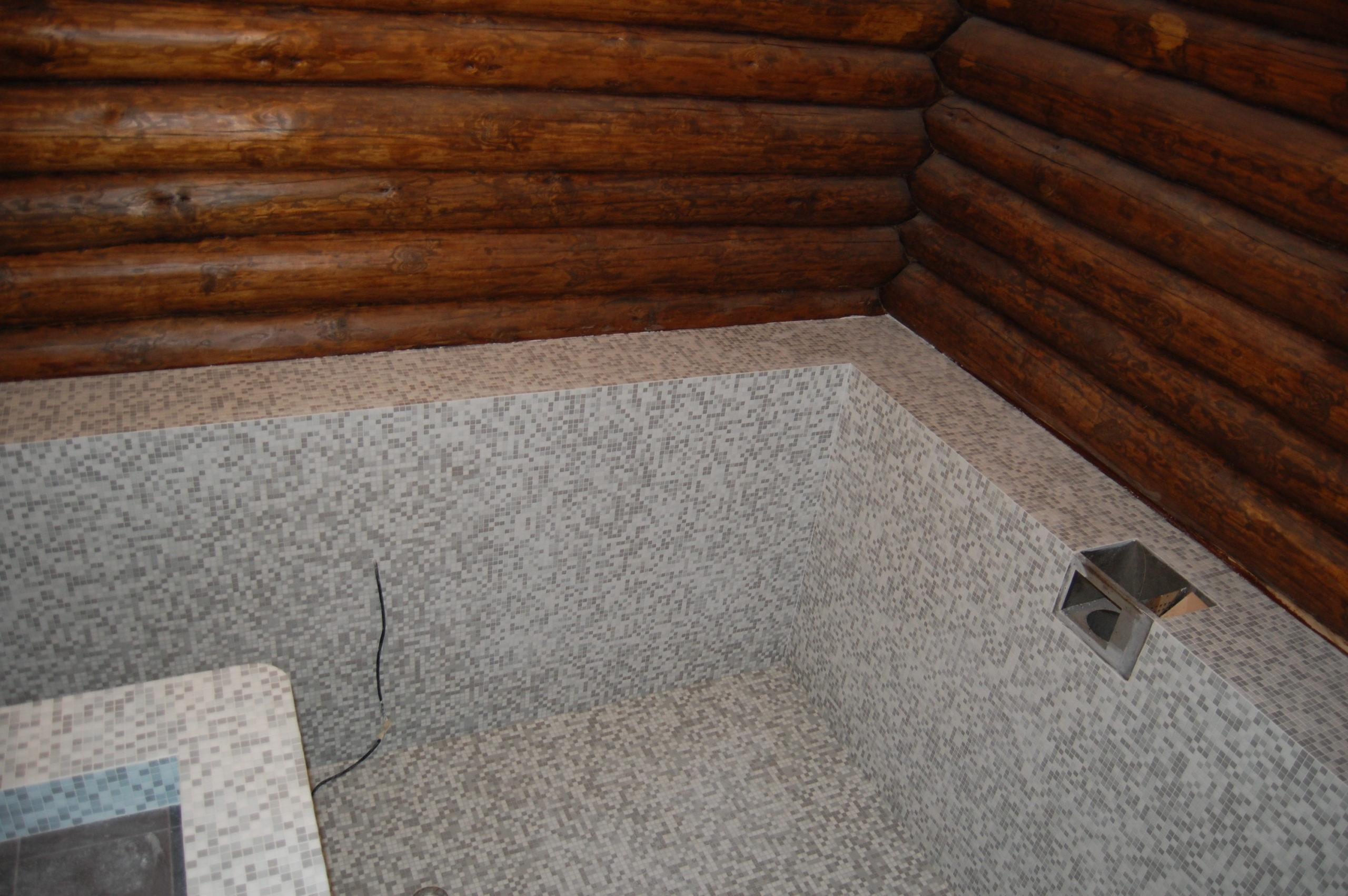 Бассейн в частной бане (28)