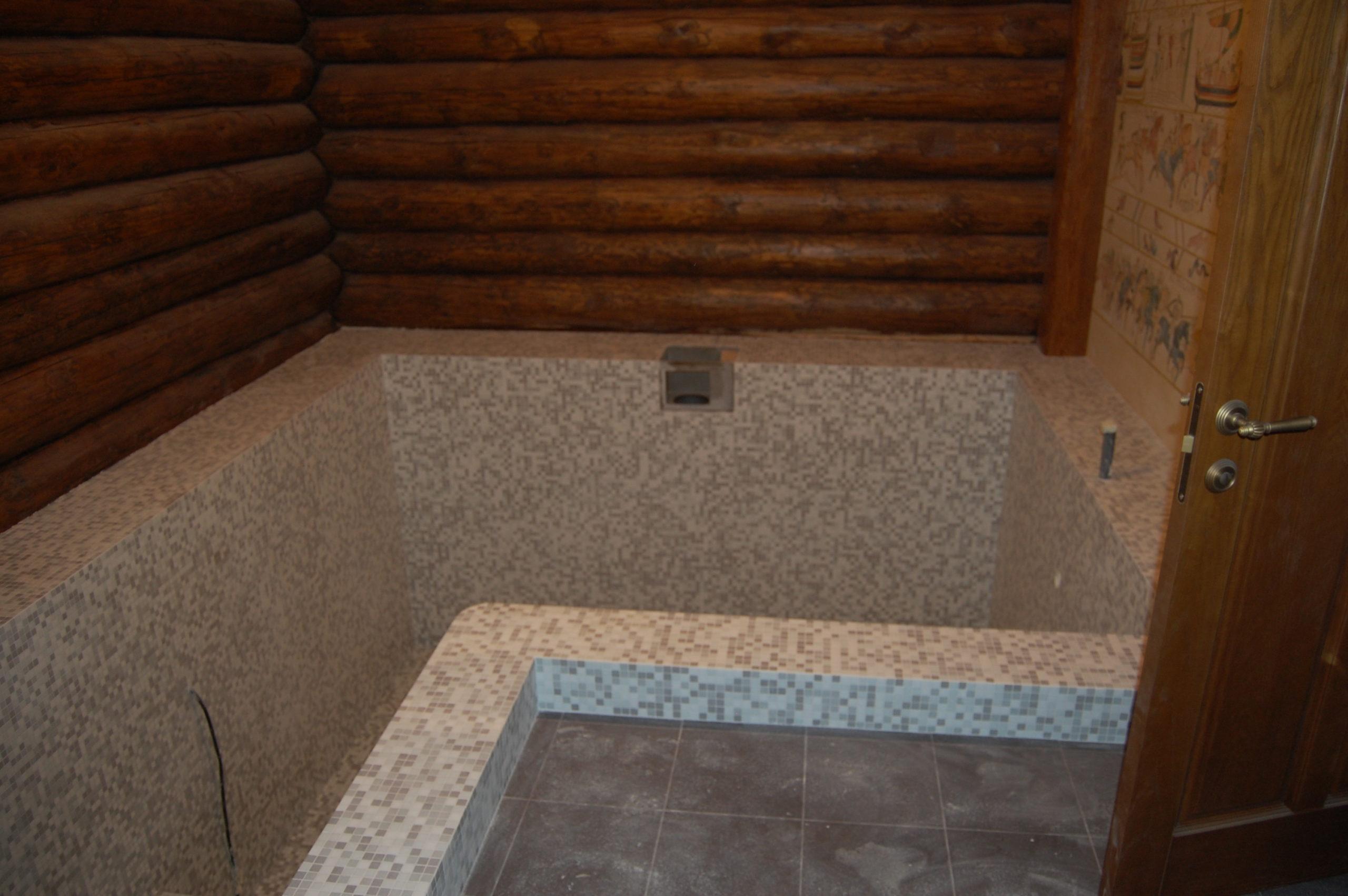 Бассейн в частной бане (5)